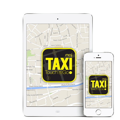 mojTaxi Touch'n'Go: Usluga koja omogućava najbrži put do taxija u Sarajevu