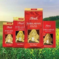 Franckova ikonska kava dostupna je u četiri gramature: 100 g, 200 g, vakuum pakiranje od 250 g te 500 g.