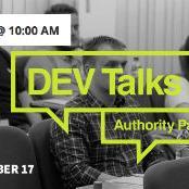 Authority Partners poziva sve IT stručnjake željne sticanja i širenja znanja o najnovijim temama iz IT svijeta, da prisustvuju DEV Talks eventu.