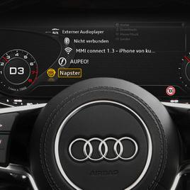 Muzika sa interneta sa Audi connect