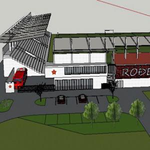 Pogledajte budući izgled centralne i zapadne tribine stadiona FK Velež