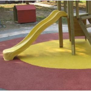 Podloge od gumenog granulata za sigurnu dječiju igru