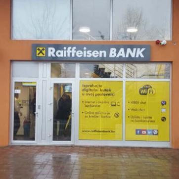 Raiffeisen bankaprepoznala jepotrebu za proširenjem razgranate mreže poslovnica.