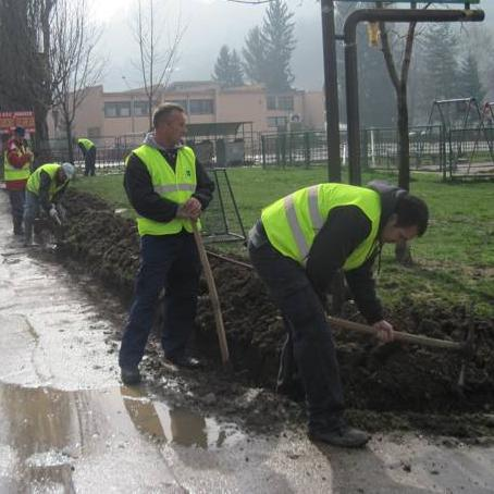 Park-ov projekat ozelenjavanja javnih zelenih površina u Vogošći