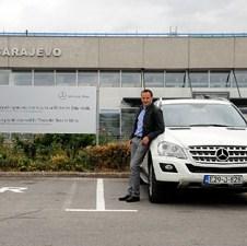 Za sve vozače Mercedesa: Besplatan parking na Aerodromu Sarajeva