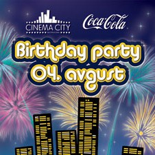 Cinema City: Birthday party uz premijeru novog SF spektakla