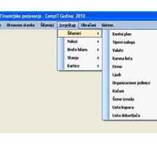 COMP-2000 poklanja softver za knjigovodstvo