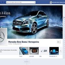 Predstavljena Mercedes-Benz facebook stranica i prva nagradna igra za fanove