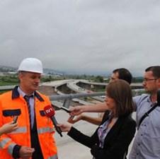 Intenzivirana izgradnja na prvoj dionici Sarajevske zaobilaznice: U oktobru kraj radova
