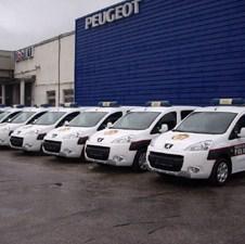 Osam Peugeot Partnera za Sudsku policiju FBiH