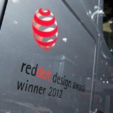 """Actros dobio nagradu za dizajn """"Red dot"""" 2012."""
