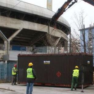Počele pripreme za izgradnju istočne tribine stadiona Grbavica