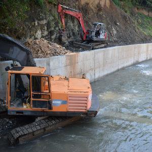 Uskoro završetak projekta uređenja korita rijeke Ljubine u Vogošći