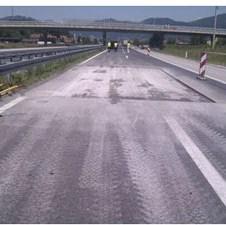 """Rolling Sarajevo: Uspješno ugrađeni prvi metri mreže za armiranje asfalta """"S&P Glasphalt G"""""""