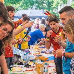 Najveći evropski sajam kultura sa preko 300 mladih učesnika iz 50 zemalja Evrope i svijeta će 5. aprila okupiti desetak hiljada posjetilaca iz BiH.