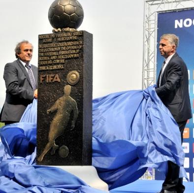 Begić i Platini otvorili Trening centar u Zenici