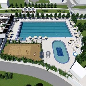 Planirano je da se na Dobrinji izgradi moderni sportsko-rekreativni centar sa bazenima i pratećim sadržajima.