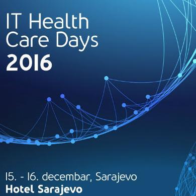 """Sredinom decembra u Sarajevu konferencija """"IT Health Care Days 2016"""""""