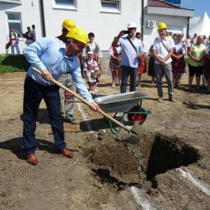 Položen kamen temeljac za izgradnju banje u Domaljevcu