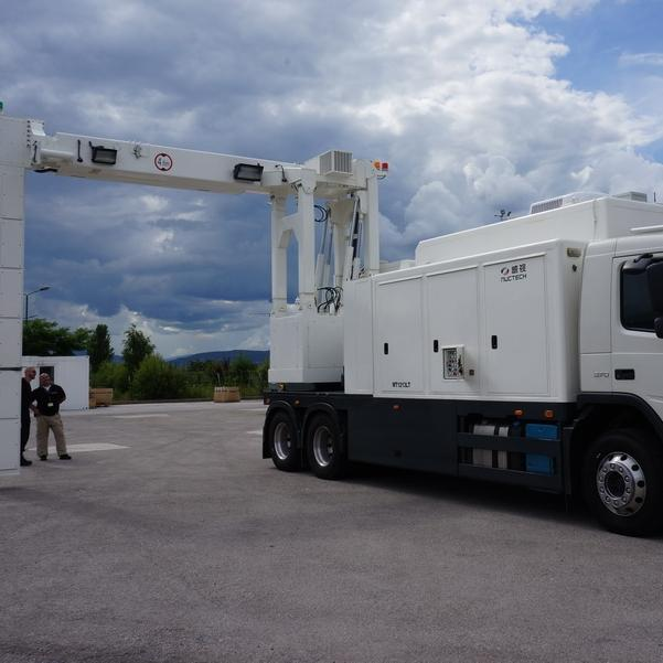 These two vehicle scanners will be located at the customs offices with the most traffic frequency in Sarajevo and Gradiška, given that they are mobile vehicle scanners they will be very often used for control of heavy trucks and containers in various places in Bosnia and Herzegovina.