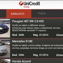 UniCredit Leasing Asset Stock aplikacija