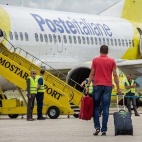 Odluka Vlade HNŽ da u 2017. godini subvencionira rad Zračne luke Mostar s 300.000 maraka otvorila je širom vrata za dolazak stranih kompanija.
