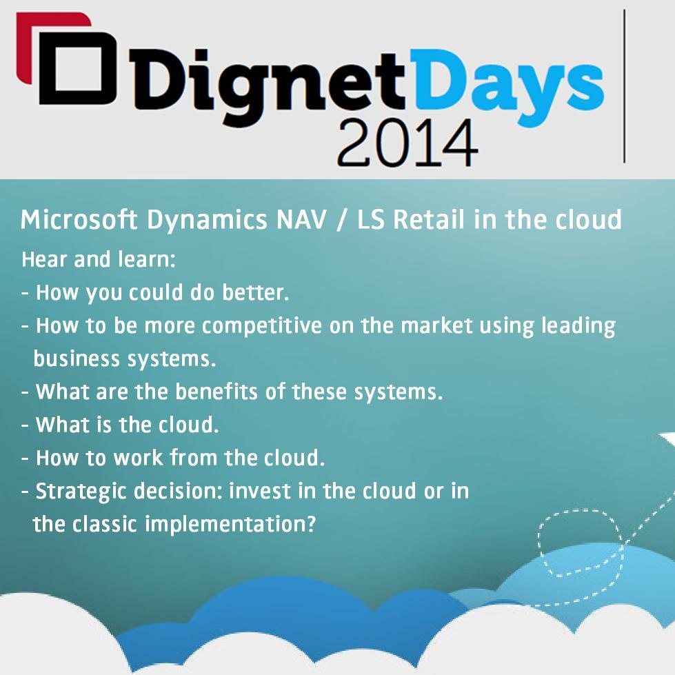 DignetDays 2014: Upoznajte se sa poslovnim rješenjem u oblaku