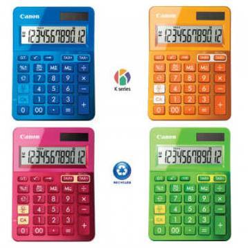 Nova K serija Canon kalkulatora!