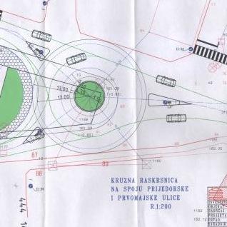 Izgradnja kružnog toka počinje odmah po okončanju tenderske procedure, odnosno u paketu sa radovima na izgradnji kolovozne trake i trotoara od Vehaba pa do magistralnog puta M-15.