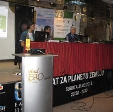 """Mario Knezović i grupa Zoster postali ambasadori projekta """"Sat za planetu Zemlju"""" u BiH"""
