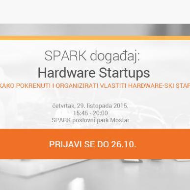 Na SPARK Hardware Startups događaj dolazi estonski stručnjak