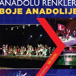"""Koncert """"Boje Anadolije"""" 3. decembra u BKC u Sarajevu"""