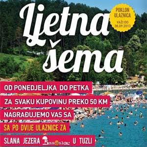 Željni osvježenja, sa Mercatorom na slana jezera Pannonica