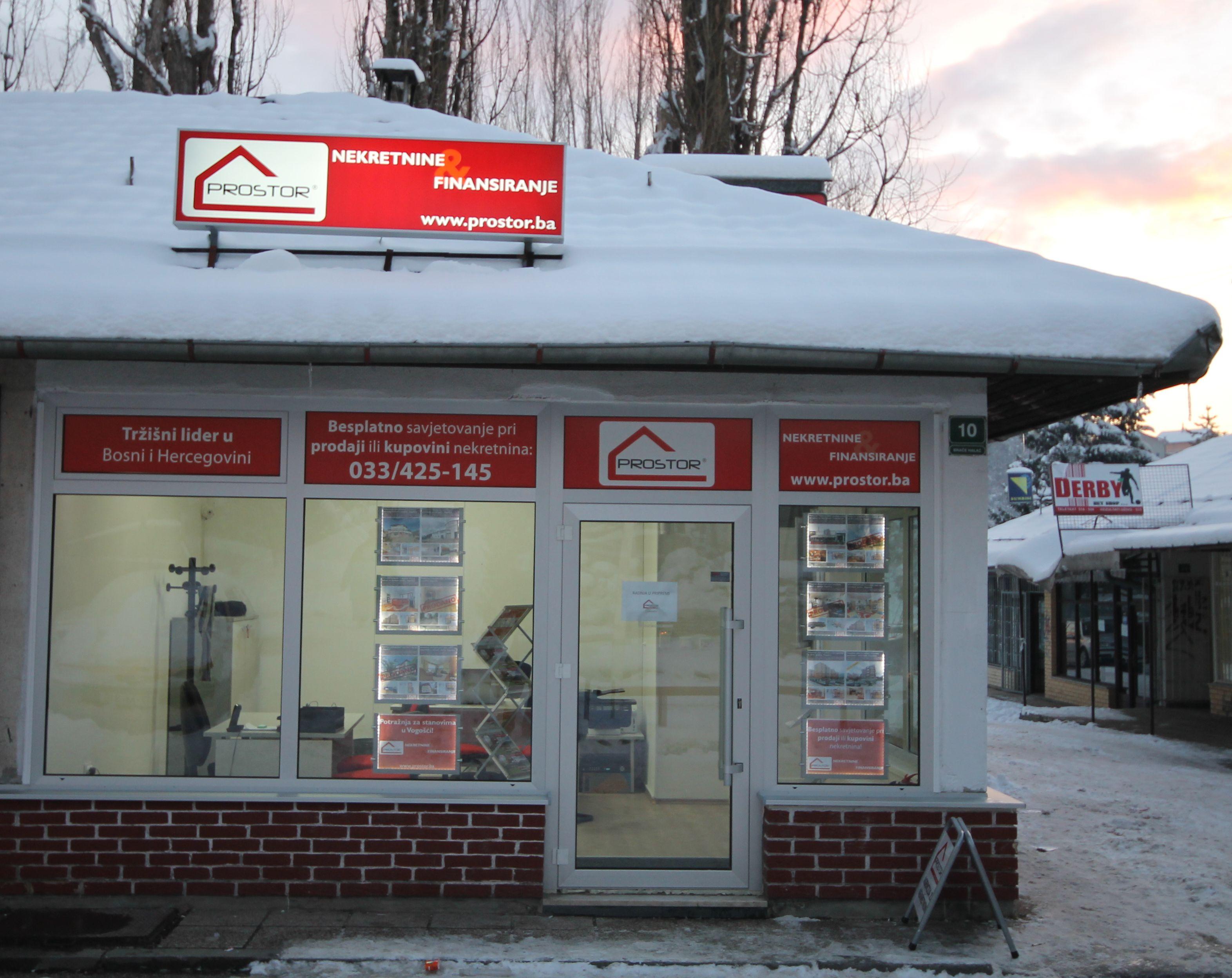 PROSTOR otvorio novu poslovnicu u Vogošći