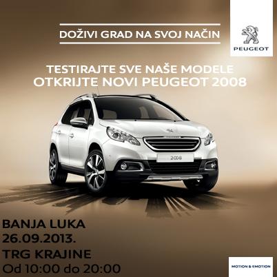 Doživi grad na svoj način: Testirajte sve Peugeot modele