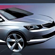 Nova ŠKODA Fabia – moderan dizajn za novi automobil