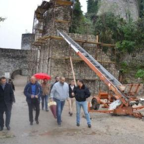 Pri kraju radovi na rekonstrukciji dijela zidina Starog grada Ostrožac