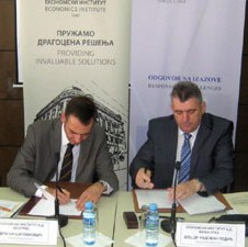 Ekonomski instituti iz Banja Luke i Beograda potpisali Sporazum o poslovnoj saradnji