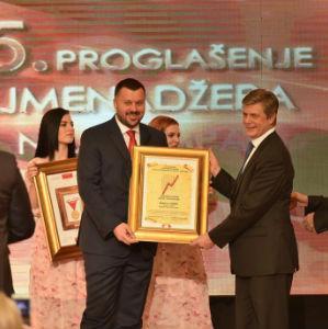 Prestižne nagrade za Vinariju Podrum Vukoje 1982