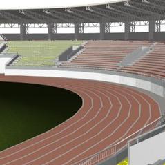 Završetak radova sjeverne tribine stadiona Tušanj sredinom 2013