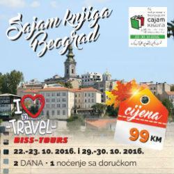 Posjetite 61. Međunarodni beogradski sajam knjige