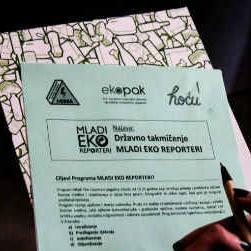 """Ekopak: Poziv za učešće u državnom takmičenju """"Mladi Eko Reporteri"""""""