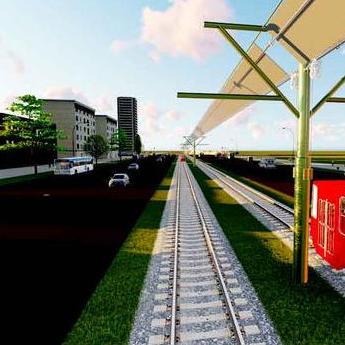 Planirano je postavljanje 35.000 m2 panela na liniji od Ilidže do kampusa tj. na ruti dugoj oko 8,2 kilometara.
