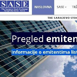 Na Sarajevskoj berzi 13. maja osam vanrednih aukcija