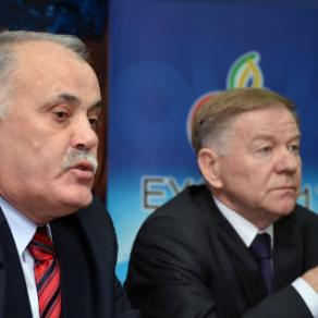 Mayors of Sarajevo and East Sarajevo, Ivo Komšić and Nenad Samardžija are organizing a ceremony welcoming the flag of the European Youth Olympic Festival (EYOF), which will be held in these cities in 2017.