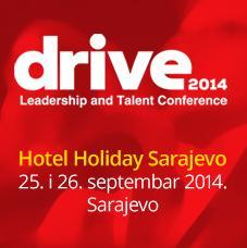 Prijavite se na najveću Leadership i Talent konferenciju DRIVE 2014