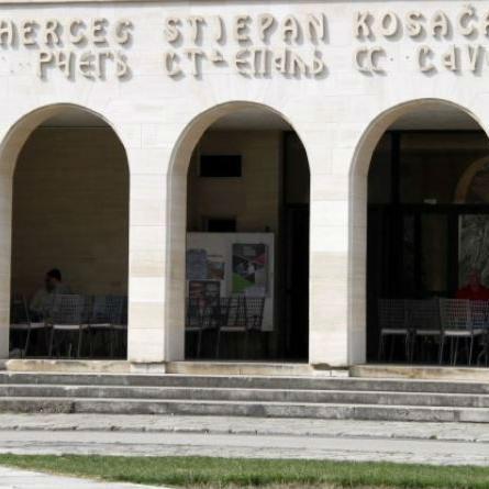 Novi izgled pročelja Hrvatskog doma hercega Stjepana Kosače u Mostaru