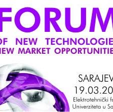 """Forum: """"Napredne tehnologije za nove tržišne prilike"""", Organizatori 5D-CADD i Elektrotehnički fakultet Sarajevo, 19.03.2009. godine"""
