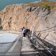 Završava se sanacija lijevog boka brane HE Rama