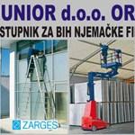 Predstavljamo: Imo Junior, zastupnika njemačkog Zargesa - merdevine, skele, koferi ....